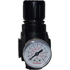 Product picture - Pressure reducer 1/4 with pressure gauge