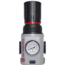 Product picture - Pressure reducer 1/2 with pressure gauge