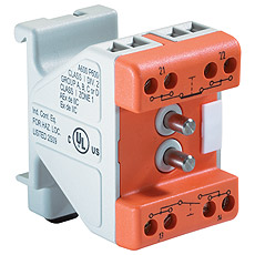 Product picture - ComEx Switch module with terminals for rail-mounted installation