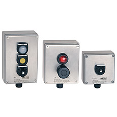 Product picture - ComEx Control stations, stainless steel