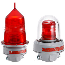 Product picture - Signal- and obstruction light for incancescent or xenon lamps AWL...