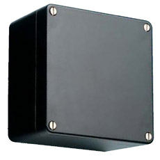 Product picture - Polyester enclosures black