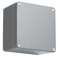 Product picture - Polyester enclosures grey