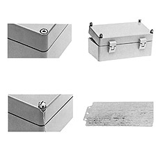 Product picture - Accessories for empty enclosures and distribution boxes