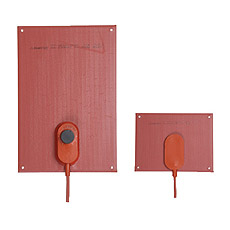 Product picture - Silicone Heater Plate for Control Cabinets SSM