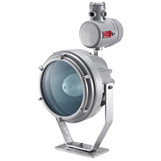 Product picture - Floodlight for halogen, incandescent or discharge lamps RCDE...